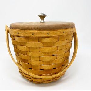 Longaberger Medium Fruit Basket with lid